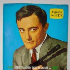 Cine: SERIE - EL AGENTE DE CIPOL - BIOGRAFIA ILUSTRADA - 1964 - FIGURAS DE LA TV - ROBERT VAUGHN Y DAVID M. Lote 233579180