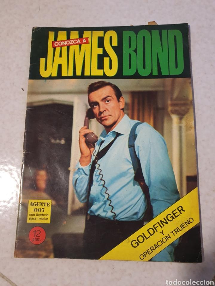 CONOZCA A JAMES BOND,EDITORIAL FERNA BUENOSAIRES,AÑO 66 (Cine - Biografías)