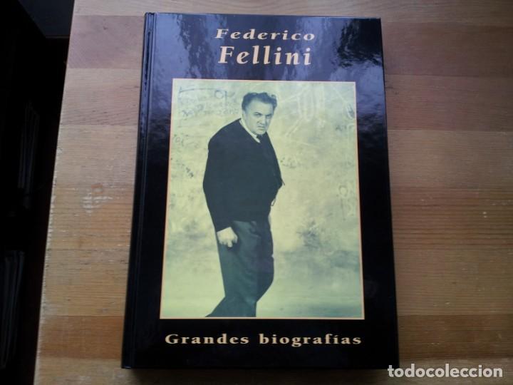FEDERICO FELLINI - GRANDES BIOGRAFIAS - EDICIONES RUEDA AÑO 1984 NUEVO (Cine - Biografías)