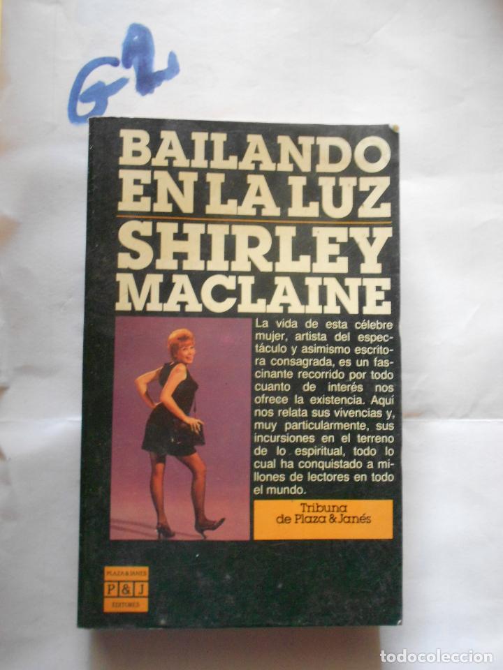 BAILANDO EN LA LUZ - SHIRLEY MACLAINE (Cine - Biografías)