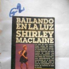 Cine: BAILANDO EN LA LUZ - SHIRLEY MACLAINE. Lote 235313620