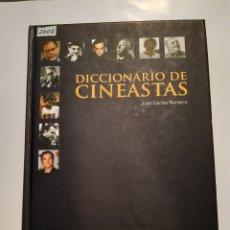 Cine: DICCIONARIO DE CINEASTAS. JUAN CARLOS RENTERO. Lote 235570950