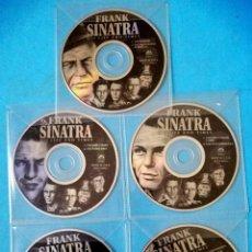 Cine: FRANK SINATRA - HIS LIFE AND TIMES (5 DVD) SIN CARATULA - SOLO FUNDAS DE PLÁSTICO (VER DESCRIPCIÓN). Lote 235686600