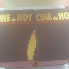 Cine: DOS TOMOS DE CINE DE HOY. Lote 241251470