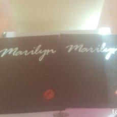 Cine: DOS TOMOS DE MARILYN MONROE. Lote 241257460