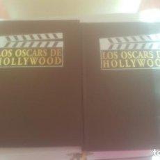 Cine: DOS TOMOS LOS OSCARS DE HOLLYWOOD. Lote 241261070