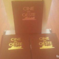 Cine: TRES TOMOS DE CINE DEL OESTE. Lote 241265535