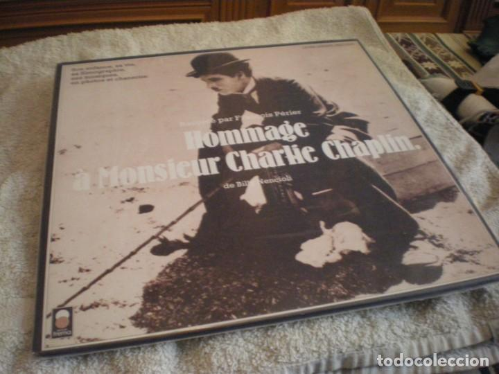 LP CHARLIE CHAPLIN EN VERSION FRANCESA VINILO USADO (Cine - Biografías)