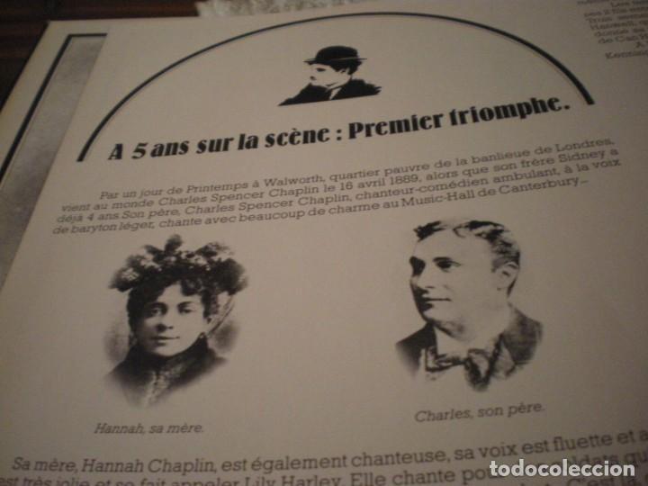 Cine: LP CHARLIE CHAPLIN EN VERSION FRANCESA VINILO USADO - Foto 16 - 241684160