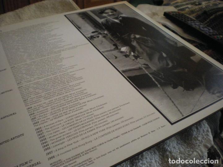 Cine: LP CHARLIE CHAPLIN EN VERSION FRANCESA VINILO USADO - Foto 60 - 241684160