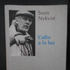 Cinema: SVEN NYKVIST. CULTO A LA LUZ. EDICIONES DEL IMAN,1997. ASOCIACION ESPAÑOLA DE AUTORES DE FOTOGRAFIA. Lote 241742895