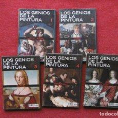 Cine: LOS GENIOS DE LA PINTURA. 5 DVD. MANET, REMBRANDT... ARTE, HISTORIA.. Lote 243343690