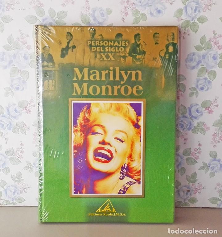 BIOGRAFÍA MARILYN MONROE SIN DESPRECINTAR PERSONAJES SIGLO XX EDICIONES RUEDA (Cine - Biografías)