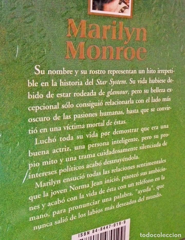 Cine: Biografía Marilyn Monroe sin desprecintar Personajes siglo XX ediciones rueda - Foto 3 - 244871495