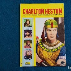 Cine: REVISTA DE CINE LA VIDA DE CHARLTON HESTON CON FOTOS DE PELICULAS (1958) - RW. Lote 245294450
