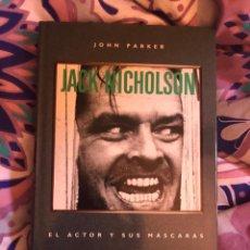 Cine: LIBRO JACK NICHOLSON EL ACTOR Y SUS MASCARAS BIOGRAFIA EL RESPLANDOR KUBRICK PELICULA DVD POLANSKI. Lote 251604155