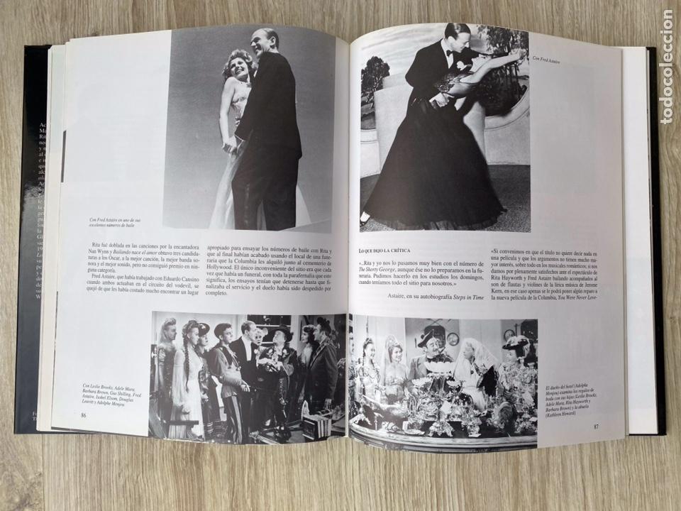 Cine: LIBRO TODAS LAS PELÍCULAS DE RITA HAYWORTH 192 PÁGINAS - Foto 4 - 251648640