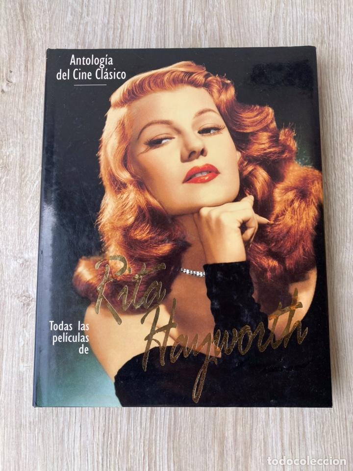 LIBRO TODAS LAS PELÍCULAS DE RITA HAYWORTH 192 PÁGINAS (Cine - Biografías)