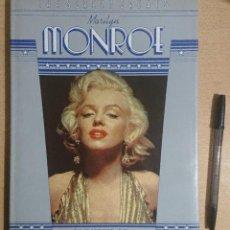 Cine: MARILYN MONROE BY TOM HUTCHINSON · THE SCREEN GREATS · OPTIMUM BOOKS 1982. Lote 252818405