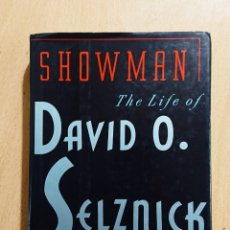 Cine: SHOWMAN · THE LIFE OF DAVID O. SELZNICK · BY DAVID THOMSON · ALFRED A. KNOPF, NEW YORK 1992. Lote 253895425