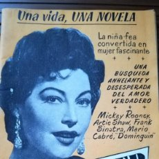 Cine: UNA VIDA UNA NOVELA AVA GARDNER Nº 18. Lote 254056165