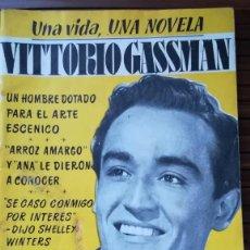 Cine: UNA VIDA UNA NOVELA VITTORIO GASSMAN, Nº27. Lote 254057960