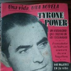 Cine: UNA VIDA UNA NOVELA TYRONE POWER Nº23. Lote 254058665