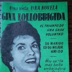Cine: UNA VIDA UNA NOVELA GINA LOLLOBRIGIDA Nº10. Lote 254059230