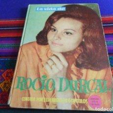 Cine: RETAPADO TAPA DURA OBRA COMPLETA CAPÍTULO 1 2 3 4 LA VIDA DE ROCÍO DÚRCAL. EDICIONES ESTE 1963. RARO. Lote 254207605