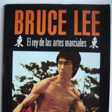 Cinema: BRUCE LEE. LIBRO 21 X 28,5 CMS . 95 PÁGINAS.. Lote 254821600