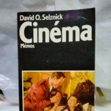 Cine: DAVID O. SELZNICK. CINÉMA.( MEMOS).RAMSAY. Lote 262005445