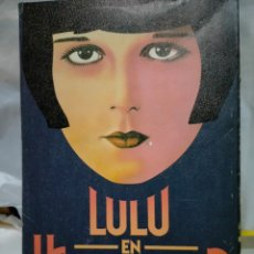 Cine: LOUISE BROOKS. LULÚ EN HOLLYWOOD .ULTRAMAR. Lote 262007715