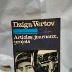 Cine: DZIGA VERTOV.ARTICLES,JOURNAUX,PROJETS. 10/18. Lote 262010330