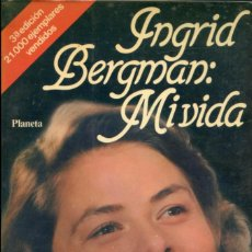 Cine: INGRID BERGMAN. MIVIDA.. Lote 262696645