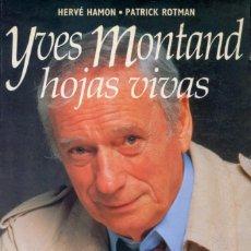 Cine: YVES MONTAND. HOJAS VIVAS.. Lote 262701140