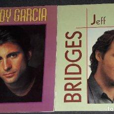 Cinema: 2 ROYAL BOOKS RETRATOS ANDY GARCIA JEFF BRIDGES. Lote 274000723