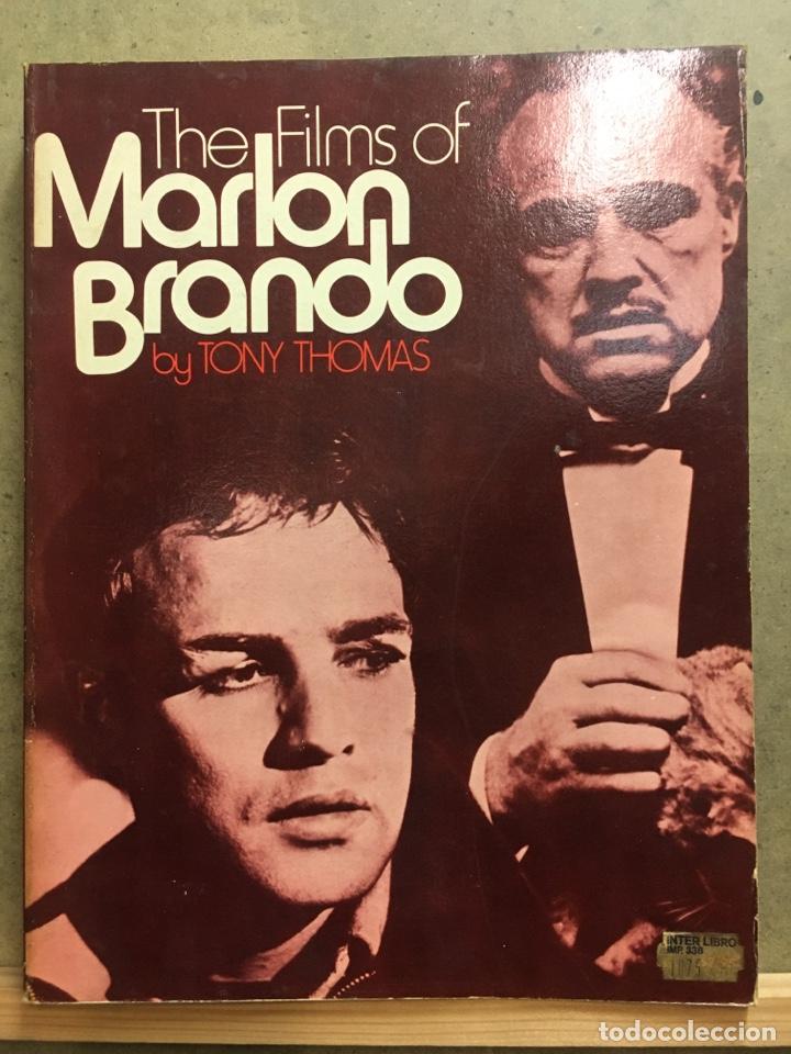 Cine: THE FILMS OF MARLON BRANDO TONY THOMAS LIBRO - Foto 2 - 275515288