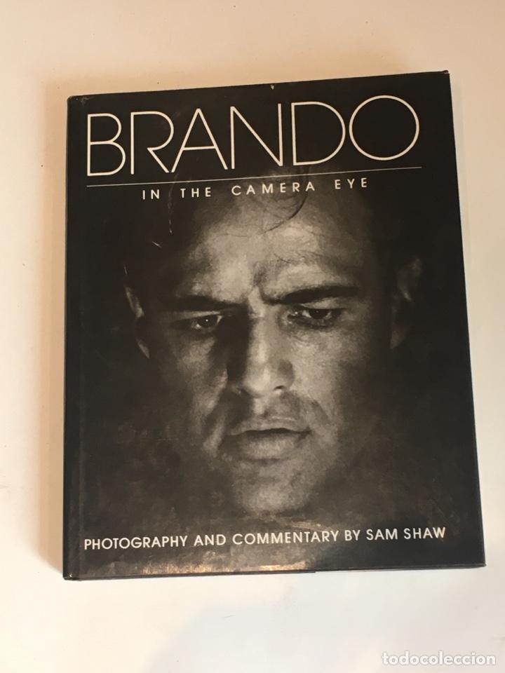 BRANDO IN THE CAMERA EYE SAM SHAW LIBRO MARLON BRANDO (Cine - Biografías)