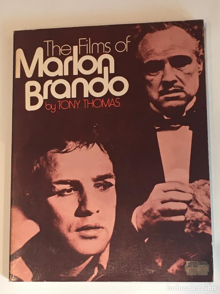 THE FILMS OF MARLON BRANDO TONY THOMAS LIBRO (Cine - Biografías)