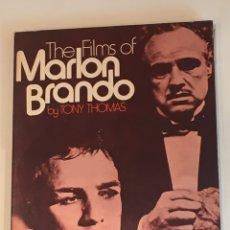 Cine: THE FILMS OF MARLON BRANDO TONY THOMAS LIBRO. Lote 275515288
