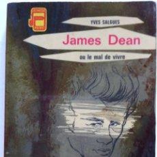 Cine: JAMES DEAN OU LE MAL DE VIVRE. SALGUES YVES G.P. COLLECTION JEUNESSE POCKET N°20, 1963. Lote 285499028