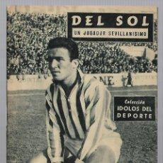Cine: 1508- IDOLOS DEL DEPORTE DEL SOL Nº 27 (1958). Lote 285618378