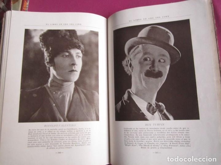 Cine: EL LIBRO DE ORO DEL CINE MUDO 240 FOTOGRAFIAS DE ACTORES NEW YORK 1926 - Foto 3 - 288220863