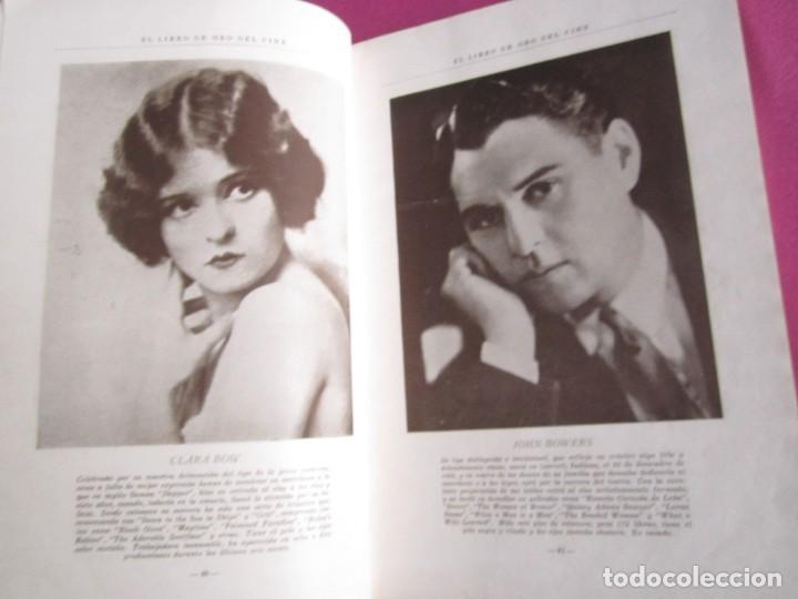 Cine: EL LIBRO DE ORO DEL CINE MUDO 240 FOTOGRAFIAS DE ACTORES NEW YORK 1926 - Foto 4 - 288220863