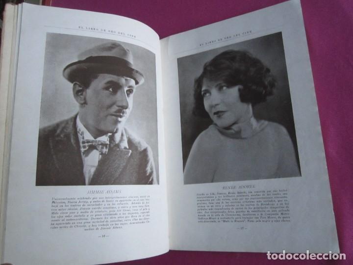 Cine: EL LIBRO DE ORO DEL CINE MUDO 240 FOTOGRAFIAS DE ACTORES NEW YORK 1926 - Foto 5 - 288220863