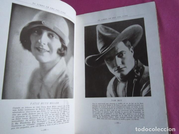 Cine: EL LIBRO DE ORO DEL CINE MUDO 240 FOTOGRAFIAS DE ACTORES NEW YORK 1926 - Foto 6 - 288220863
