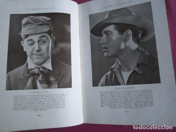 Cine: EL LIBRO DE ORO DEL CINE MUDO 240 FOTOGRAFIAS DE ACTORES NEW YORK 1926 - Foto 7 - 288220863