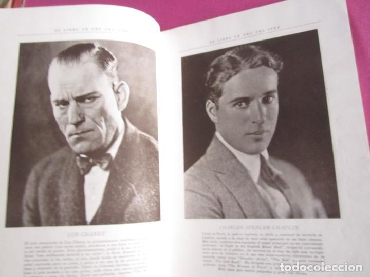 Cine: EL LIBRO DE ORO DEL CINE MUDO 240 FOTOGRAFIAS DE ACTORES NEW YORK 1926 - Foto 8 - 288220863
