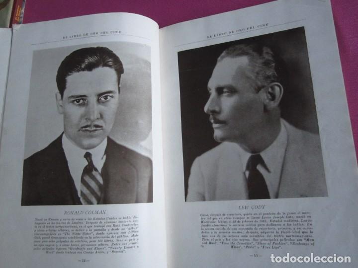 Cine: EL LIBRO DE ORO DEL CINE MUDO 240 FOTOGRAFIAS DE ACTORES NEW YORK 1926 - Foto 11 - 288220863