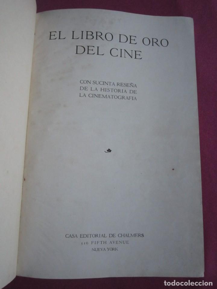 Cine: EL LIBRO DE ORO DEL CINE MUDO 240 FOTOGRAFIAS DE ACTORES NEW YORK 1926 - Foto 12 - 288220863